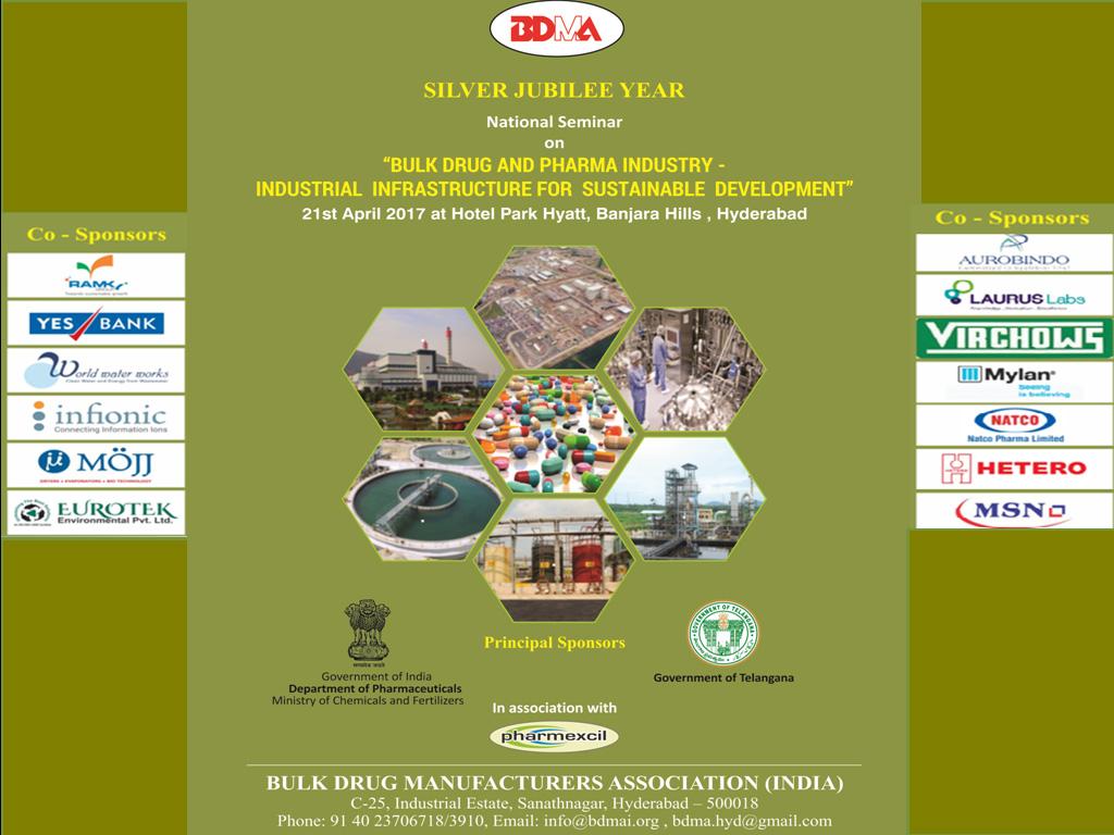 Seminars – Bulk Drug Manufacturers Association India